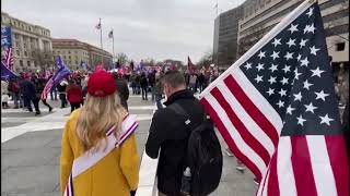 Trump supporters rally in Washington to protest against Biden's victory